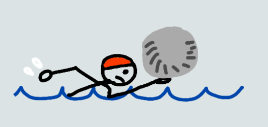 person-swimming-with-a-rock.png